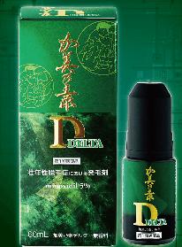 株式会社加美乃素本舗の発毛剤製品 加美乃素デルタ